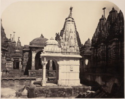 Group of temples to the North-east of Kumarapala's [Satrunjaya]